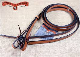 REINS - CIRCLE Y SPLIT REINS/4752-3404 - CIRCLE Y - Mock Brothers Saddlery and Western Wear