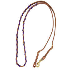 REINS - BERLIN BARREL REINS WITH PARACORD LACING/H513 - BERLIN - Mock Brothers Saddlery and Western Wear