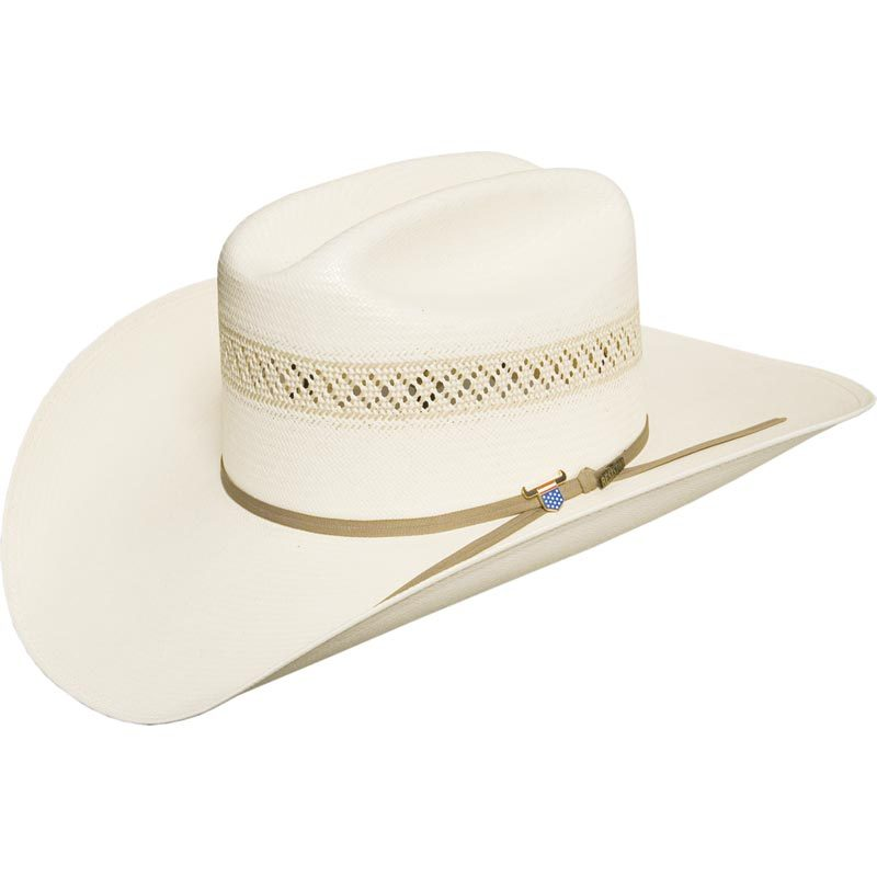 "Hats - Resistol Wildfire Straw Hat/RSWIFI 4 1/4"" - Resistol - Mock Brothers Saddlery and Western Wear"