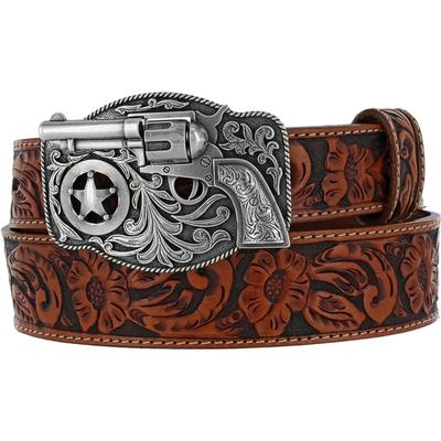 Kids Belts - Justin Kids Gun Belt/C30124 - Justin - Mock Brothers Saddlery and Western Wear