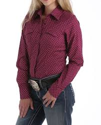 Womens Tops - Cinch Women's Top/MSW9201004 - Cinch - Mock Brothers Saddlery and Western Wear