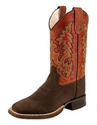 Kids Boots - OLD WEST KIDS BOOTS/BSY1806/BSC1806 - OLD WEST - Mock Brothers Saddlery and Western Wear