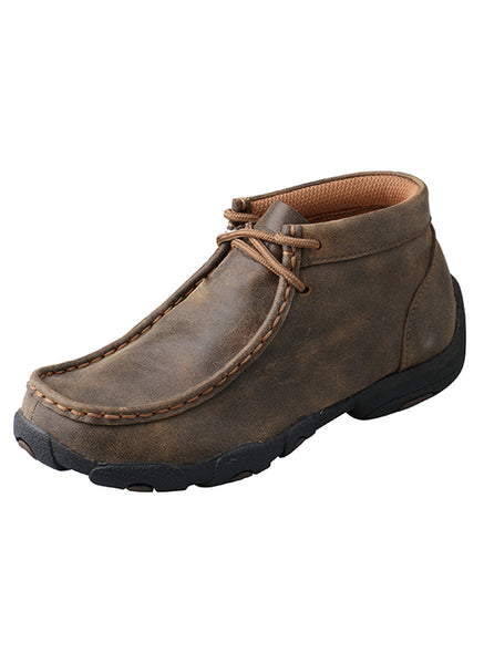 Kids Shoes - Kid's Driving Moccasins – Bomber/CDM0001 - Twisted X - Mock Brothers Saddlery and Western Wear