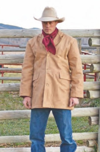 Jacket - Wyoming Traders Men's Canvas Jacket - Wyoming Traders - Mock Brothers Saddlery and Western Wear