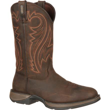 Boots - Durango Men's Rebel Chocolate Boot/DB5464 - Durango - Mock Brothers Saddlery and Western Wear