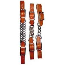 BERLIN HARNESS LEATHER CURB STRAPS/H415A/H415B/H415C
