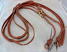 REINS - BERLIN ALL LEATHER GERMAN MARTINGALE/H847 - BERLIN - Mock Brothers Saddlery and Western Wear