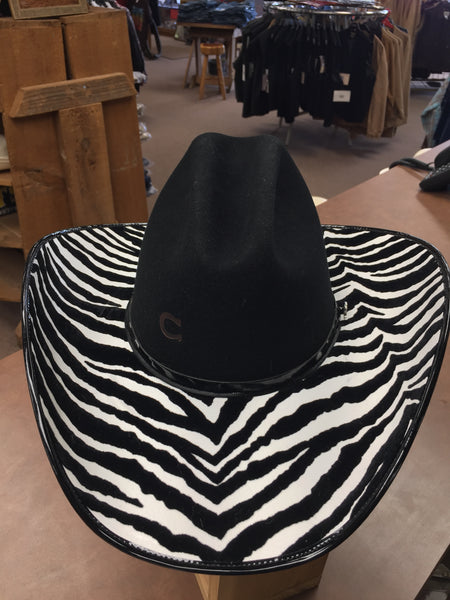 Hats - Charlie 1 Horse Cowgirl Hat/Flashback Black - Charlie1Horse - Mock Brothers Saddlery and Western Wear
