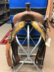 saddle - Used Mock Brothers Barrel Racer/C.G./14