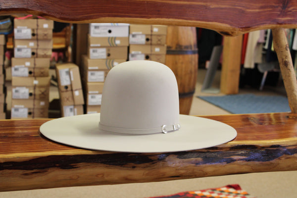 Resistol Langtry 10X Silverbelly Hat