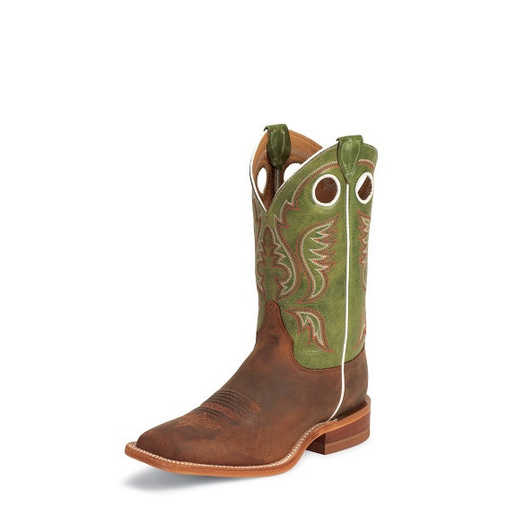 Boots - Justin Austin Cognac Boot - Justin - Mock Brothers Saddlery and Western Wear