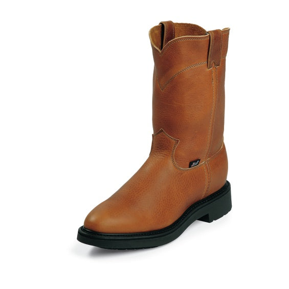 Boots - Justin 4762 Work Boot - Justin - Mock Brothers Saddlery and Western Wear
