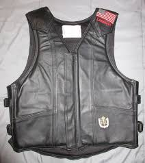 LAMBERT RIDE RIGHT ROUGH STOCK VEST-LEATHER