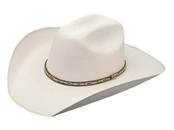 Hats - Atwood Marfa Low Crown Straw Hat 4 1/2 inch brim 7X palm - Atwood - Mock Brothers Saddlery and Western Wear