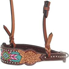 NOSEBAND - RAFTER T NOSEBAND/NB239 - RAFTER T - Mock Brothers Saddlery and Western Wear