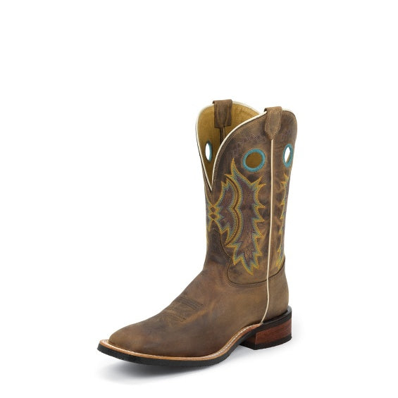 Boots - Tony Lama Men's Creedance Brown Boot/7973 - Tony Lama - Mock Brothers Saddlery and Western Wear