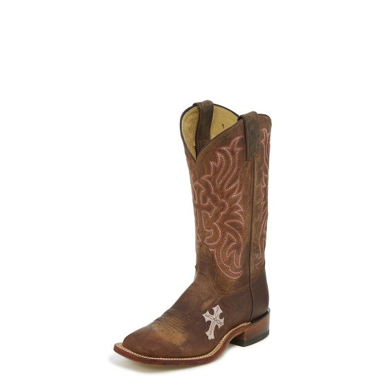 Womens Boots - Tony Lama Laska Pink Boot/TC1005L - Tony Lama - Mock Brothers Saddlery and Western Wear
