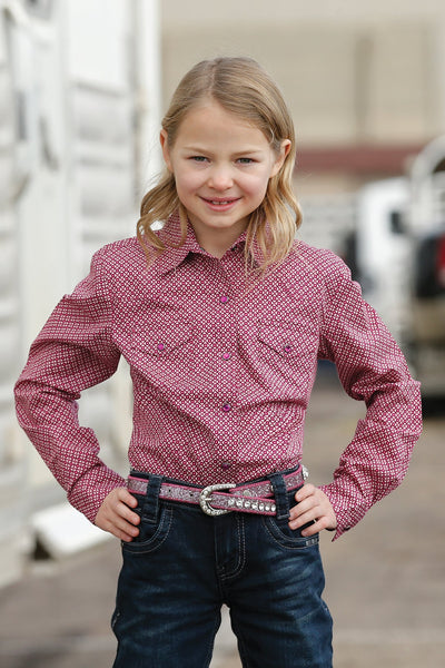 Kids Shirts - Cruel Girl Girls Shirt/CTW3230014 - Cruel Girl - Mock Brothers Saddlery and Western Wear
