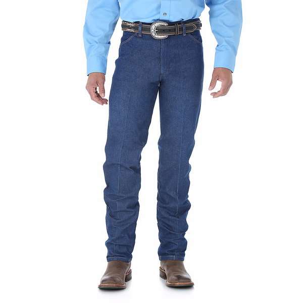 Jeans - Wrangler Men's Unwashed 13MWZ Jeans - Wrangler - Mock Brothers Saddlery and Western Wear