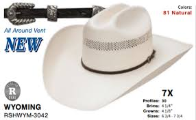 Hats - Resistol Straw Hat/Wyoming - Resistol - Mock Brothers Saddlery and Western Wear