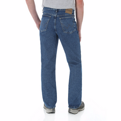 Jeans - Wrangler Men's Prewashed Coupe Comfort Relaxed Fit Jeans/35001AI - Wrangler - Mock Brothers Saddlery and Western Wear