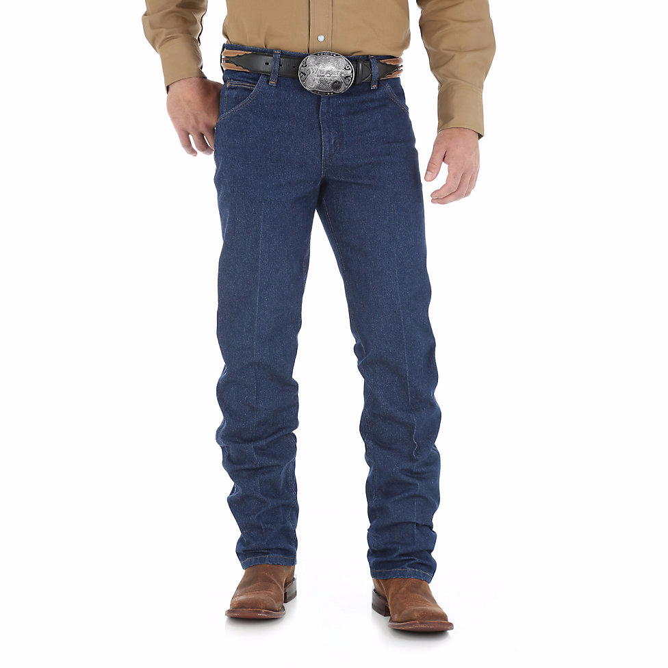 Jeans - Wrangler Men's Premium Performance Cowboy Cut PreWashed Jean/47MWZPW - Wrangler - Mock Brothers Saddlery and Western Wear