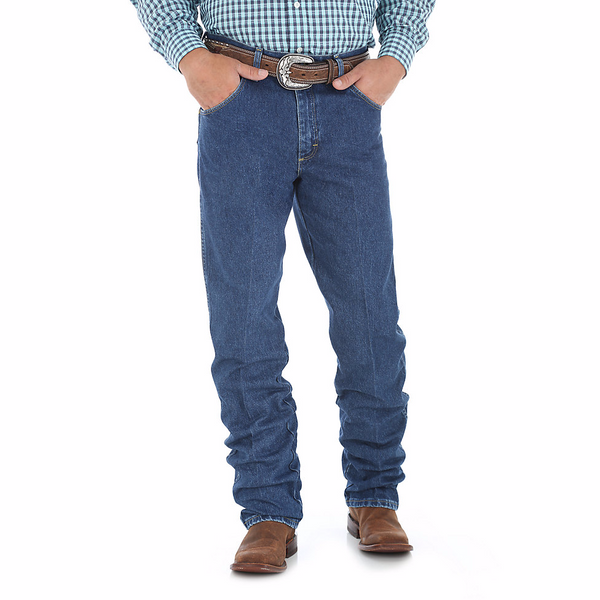 Jeans - Wrangler George Strait Relaxed Fit Jean/31MGSHD - Wrangler - Mock Brothers Saddlery and Western Wear