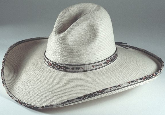 "Hats - Sunbody Blue Diamond Gus Straw - 5"" Brim - SunBody - Mock Brothers Saddlery and Western Wear"
