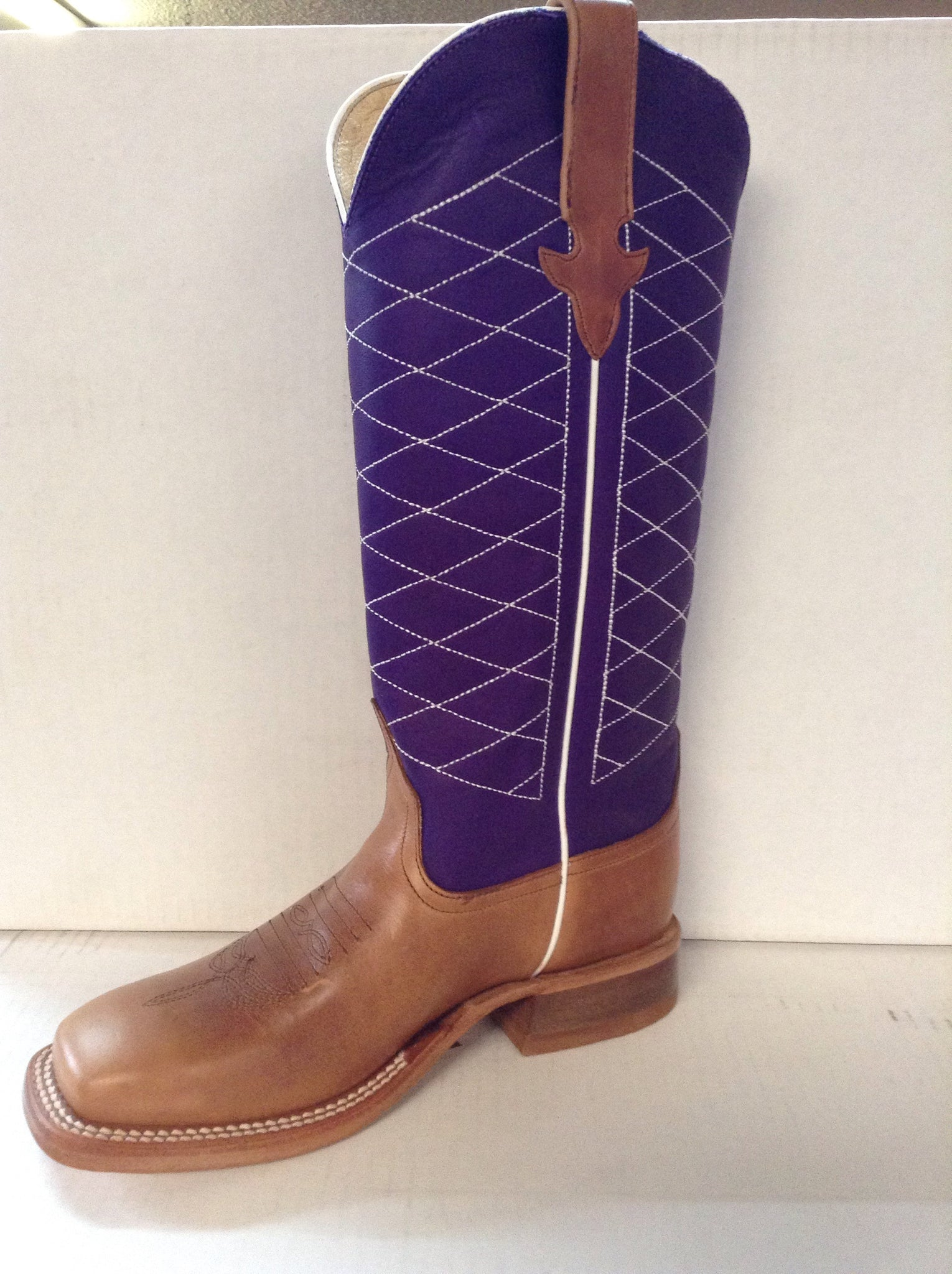 Kids Boots - Anderson Bean Kids Purple Boot K1506 - Anderson Bean - Mock Brothers Saddlery and Western Wear