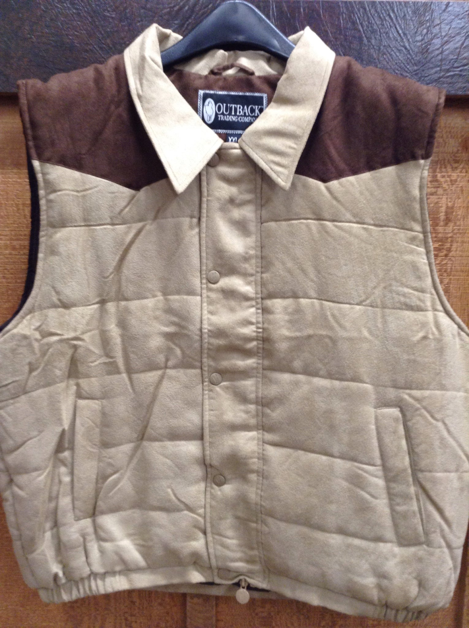 Outerwear - Outback Men's Clay Vest/29741 - OUTBACK TRADING COMPANY - Mock Brothers Saddlery and Western Wear