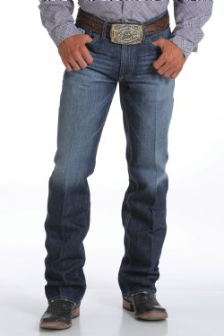 Jeans - Cinch Men's White Label Straight Leg Jean/MB92834019 - Cinch - Mock Brothers Saddlery and Western Wear