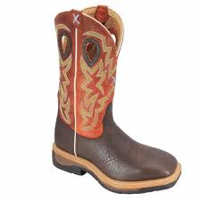 BOOTS - TWISTED X MEN'S WORK BOOT/MLCW011 - Twisted X - Mock Brothers Saddlery and Western Wear