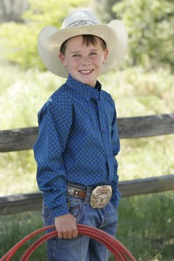 Cinch Boy's Shirt/MTW7060230