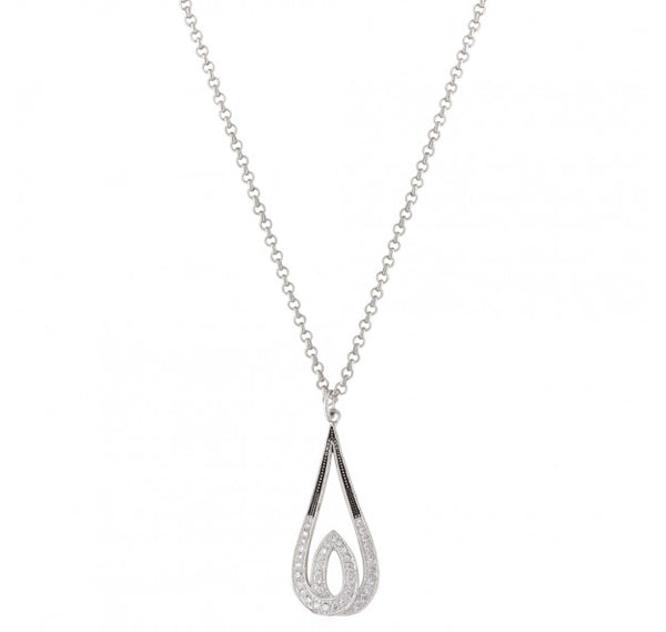 Jewelry - Frost's Candlelight Necklace/NC2750 - Montana Silversmiths - Mock Brothers Saddlery and Western Wear