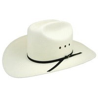 Hats - Resistol Long Cattleman Straw Hat - Resistol - Mock Brothers Saddlery and Western Wear