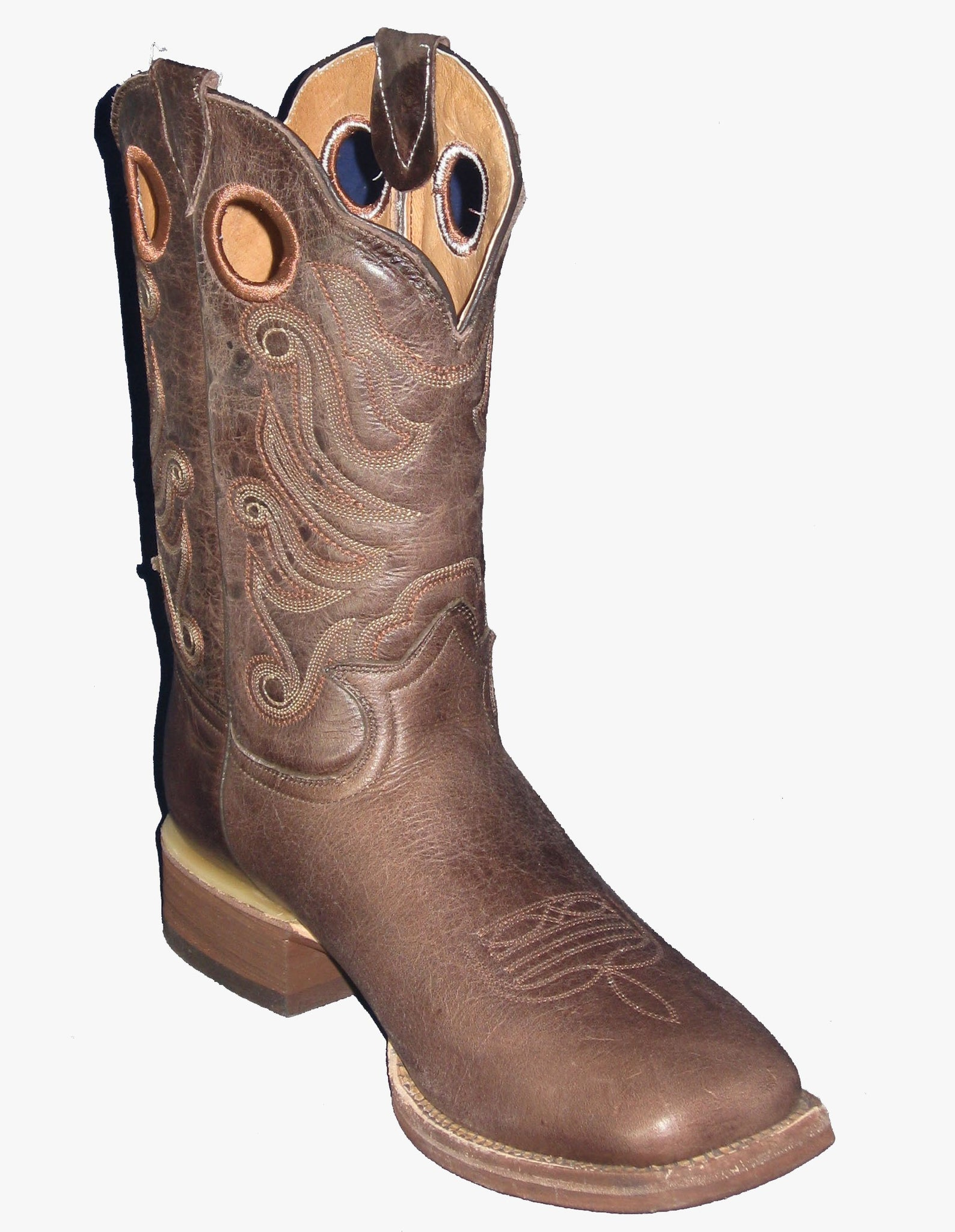 Boots - WESTERN SQUARE TOE 309Q - Cowtown - Mock Brothers Saddlery and Western Wear