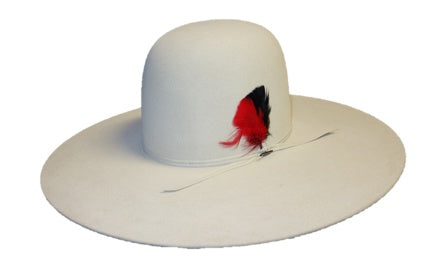 Hats - Resistol Chute 5 Long Oval Silverbelly Hat - Resistol - Mock Brothers Saddlery and Western Wear