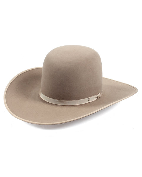 Hats - Rodeo King Open Crown Pecan 7X 6 Match Hat - Rodeo King - Mock Brothers Saddlery and Western Wear