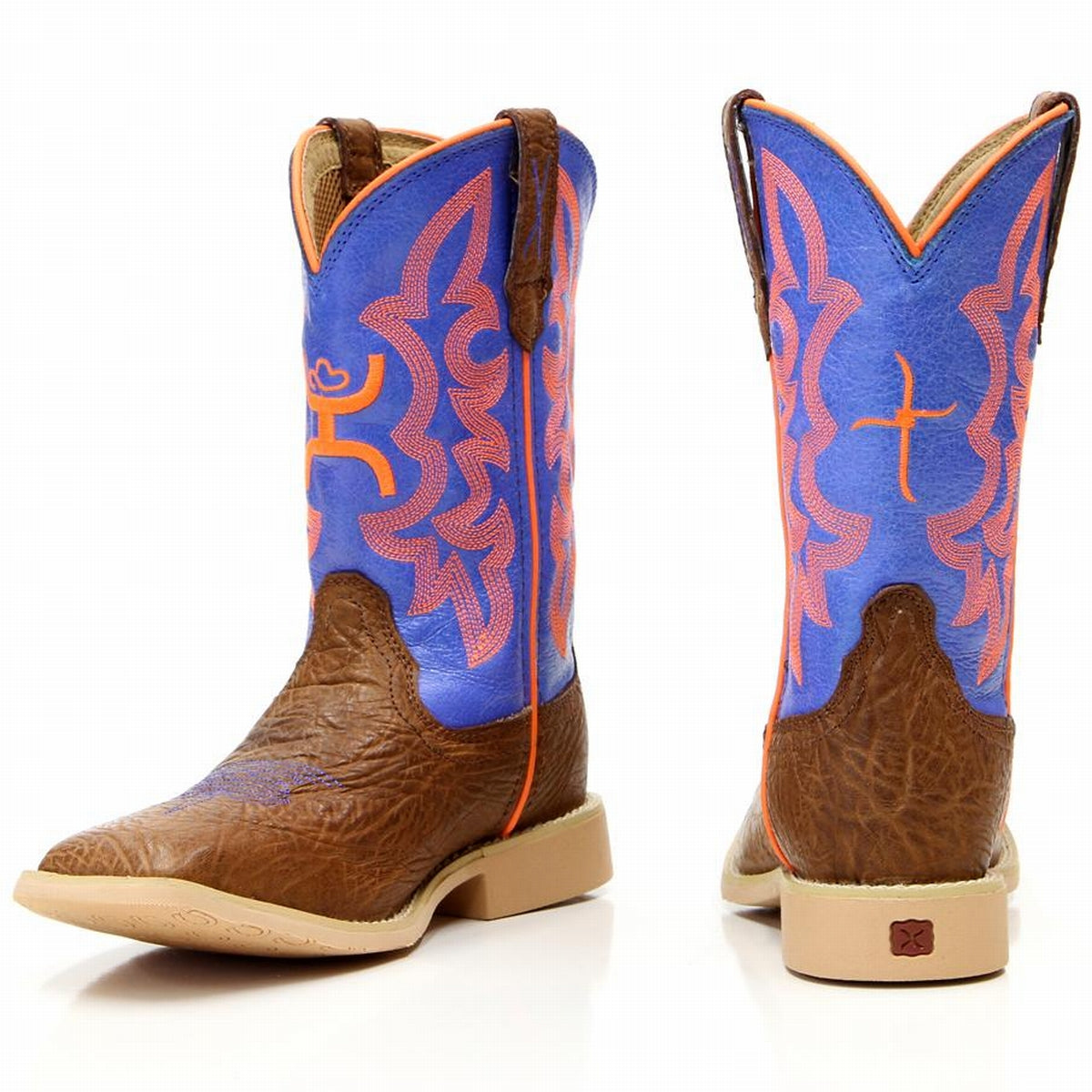 Kids Boots - Twisted X Hooey Kids Boots/YHY0001 - Twist - Mock Brothers Saddlery and Western Wear