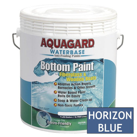 Aquagard Waterbased Anti-Fouling Bottom Paint - 1Gal - Horizon Blue