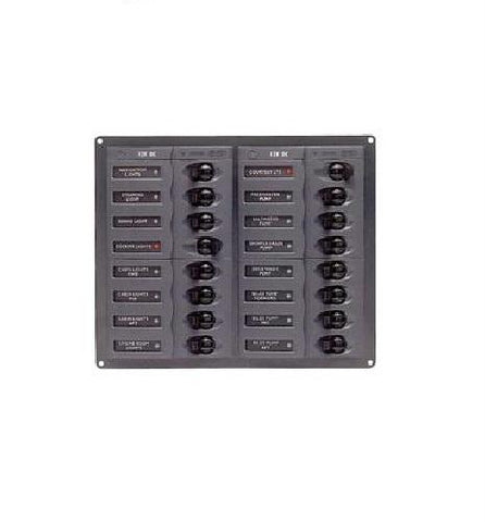 BEP 904NM 16 Way DC Circuit Breaker Panel - Manninen Marine