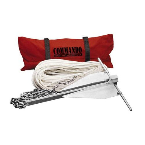 Fortress C5-A Small Craft Anchoring System - Manninen Marine