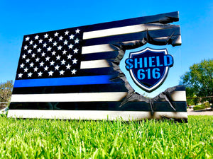 Shield 616 Thin Blue Line Series - American Flag