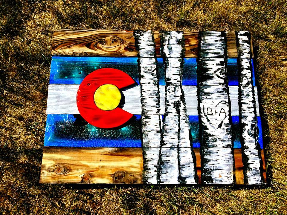 Colorado Flag - Aspen Series