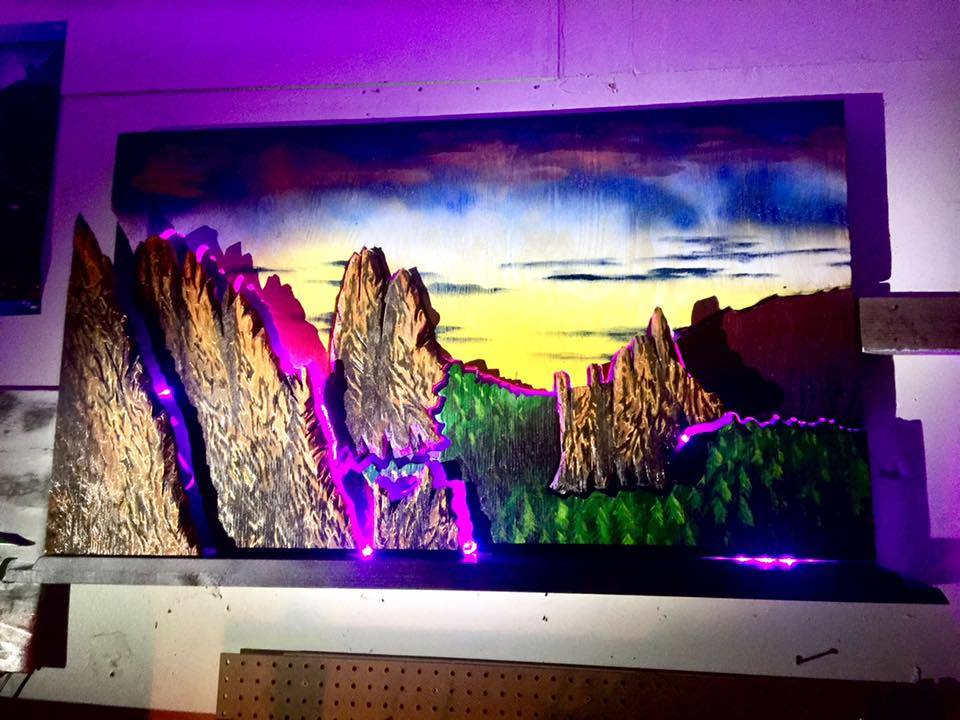 4' Garden of the Gods with Lights + Remote