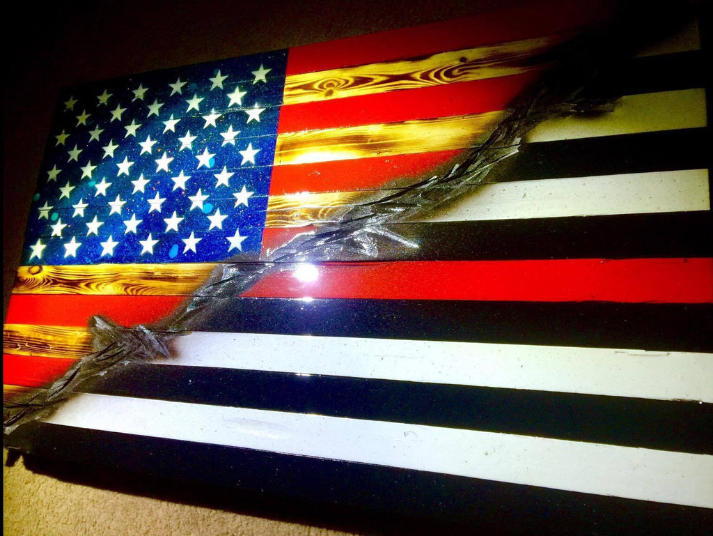 "32"" American Thin Red Line"