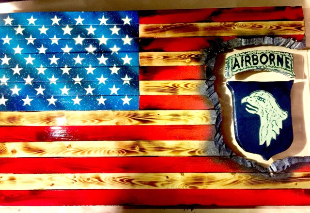 "32"" Subdued Unit Patch Series - 101st Airborne ""Screaming Eagles"""