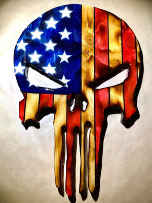 American Theme - Punisher Flag