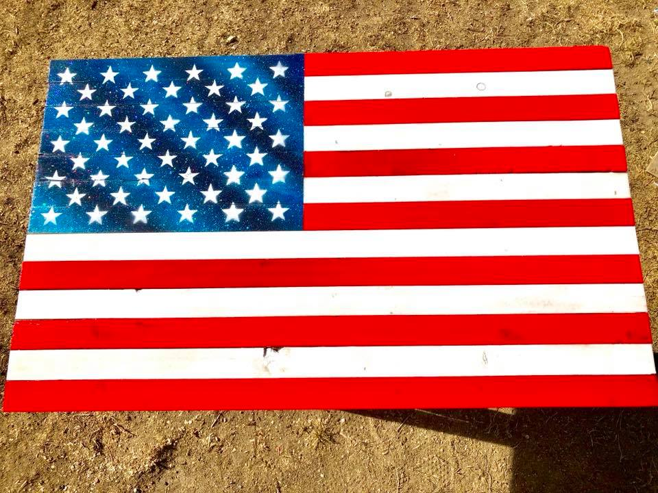 "32"" Traditional American Flag"