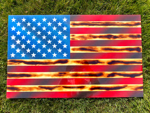 Colonial Series - Wooden American Flag